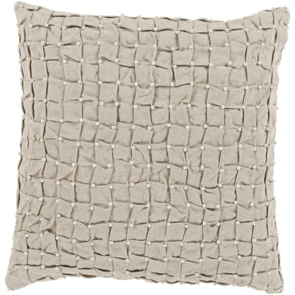 Colona 100% Linen Throw Pillow Cover by Alcott Hill